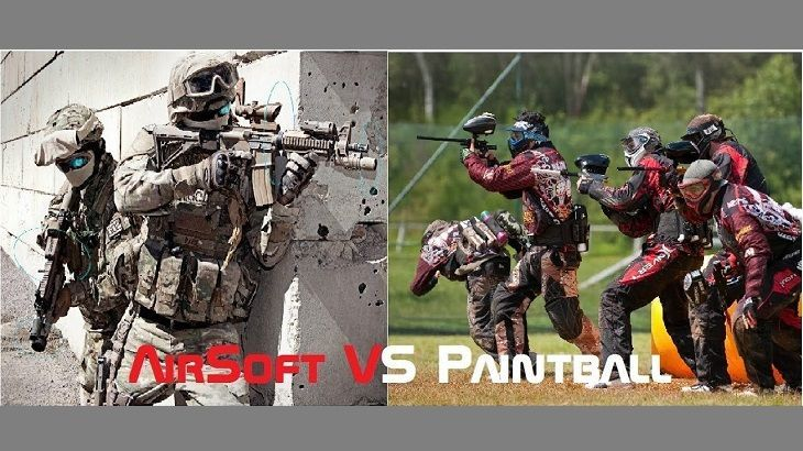 Paintball VS Airsoft Final
